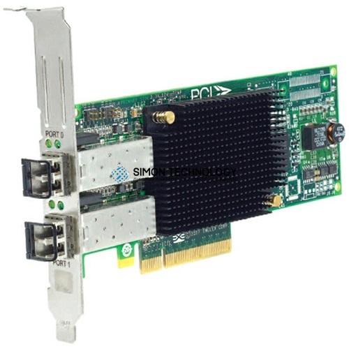 Контроллер Dell LPE12002 8GB DUAL CHANNEL PCI-E FC HBA (0C856M-HP)