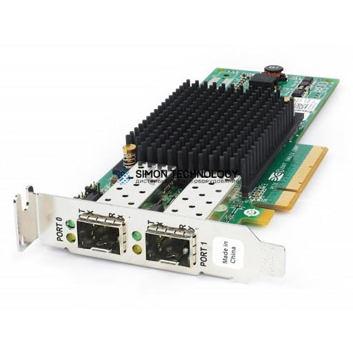 Контроллер Dell LPE12002 8GB DUAL CHANNEL PCI-E FC HBA LOW PRO BRKT (0C856M-LP)