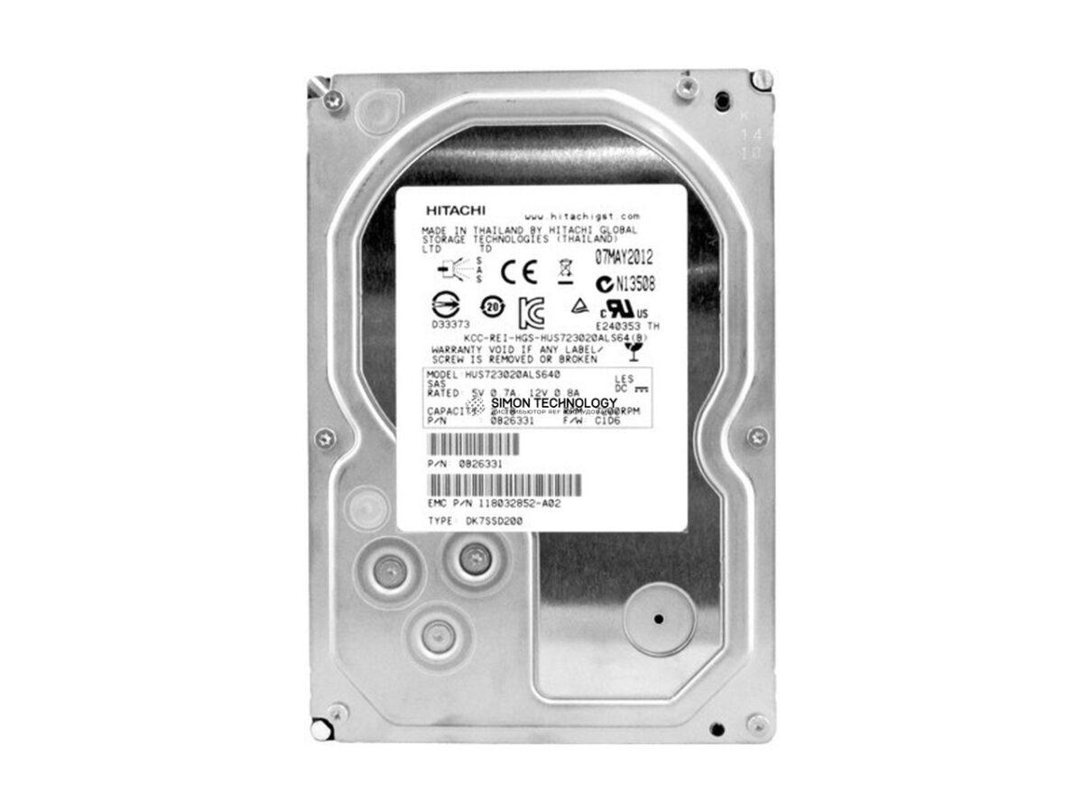 """Hitachi Hitachi 3TB 7.2K 3.5"""" SATA NHS HDD (0F15328)"""