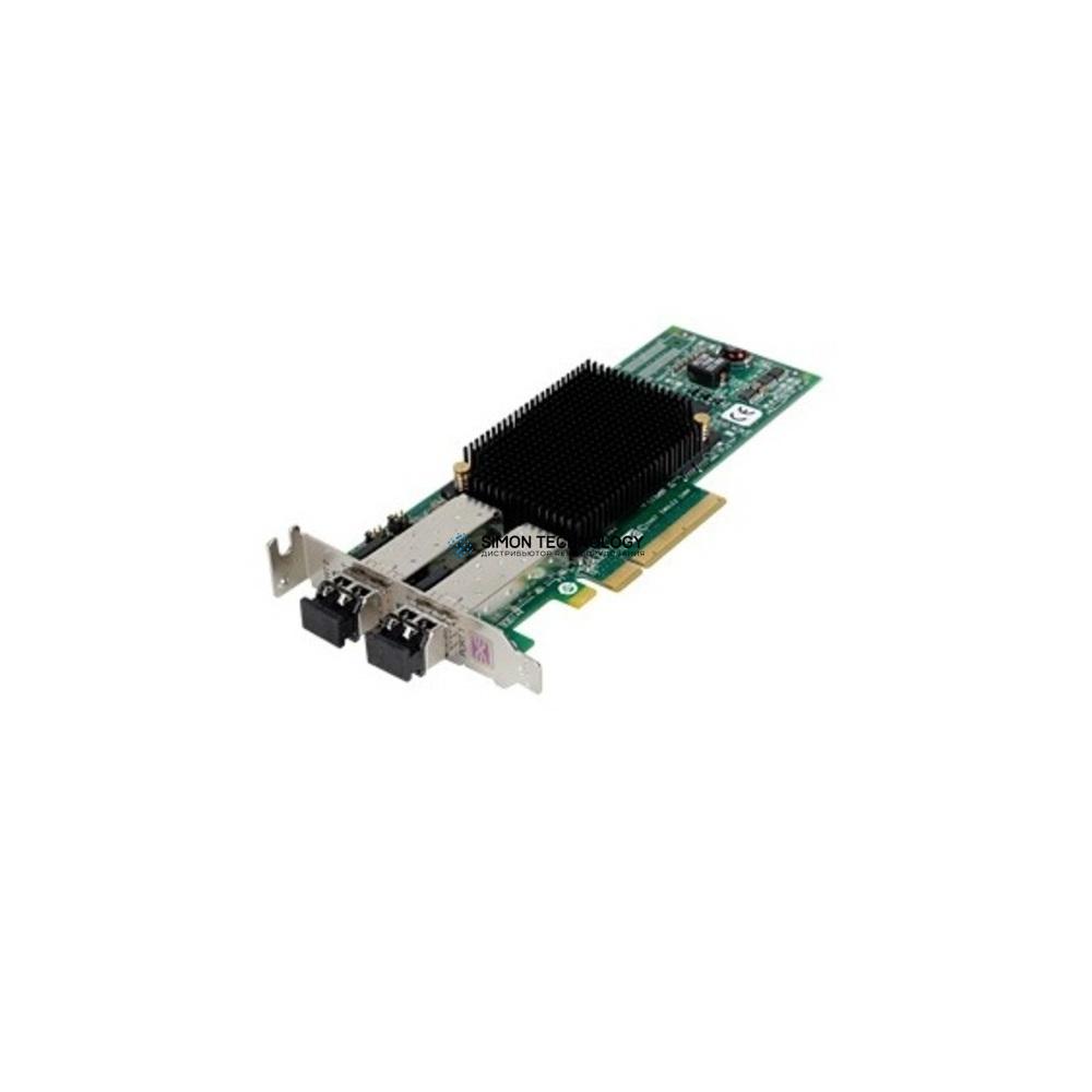 Контроллер Dell 8GB DP FIBRE PCI-E - HIGH PROFILE BRKT (0G444C-HP)
