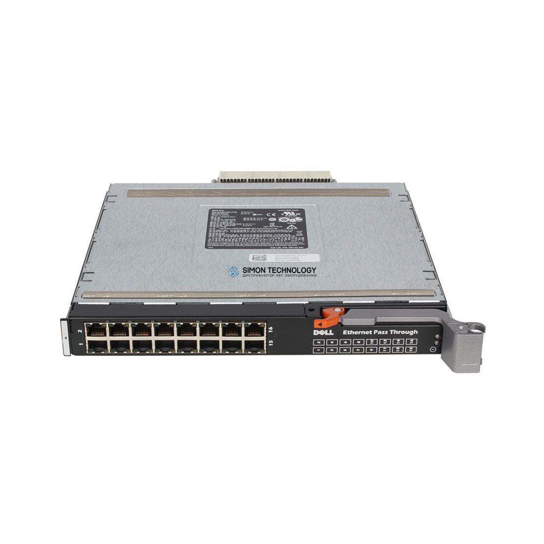 Модуль Dell DELL M1000E 16 Port Ethernet Pass through Module (0WW060)