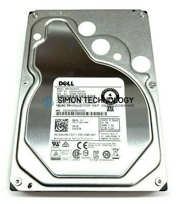 "Dell DELL 4TB 7.2K 6Gbps 3.5"" SATA HDD (0XF27R)"