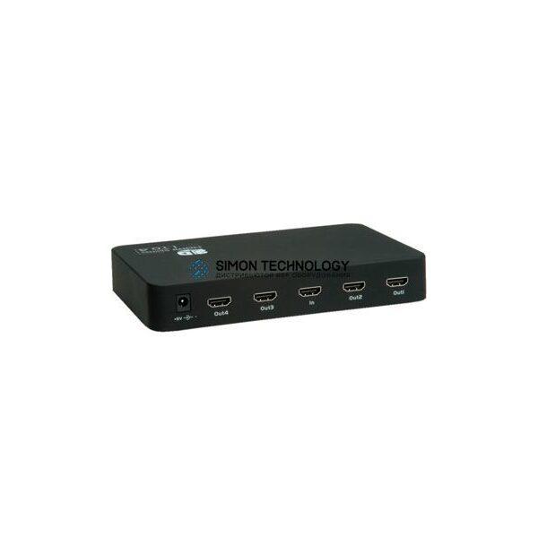 Value VALUE HDMI Video Splitter. 4x Ports (14.99.3506)