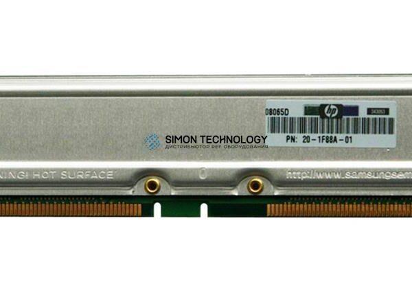 Оперативная память HPE 1GB RIMM 16D 1066MHZ 32NS (20-1F18B-01)