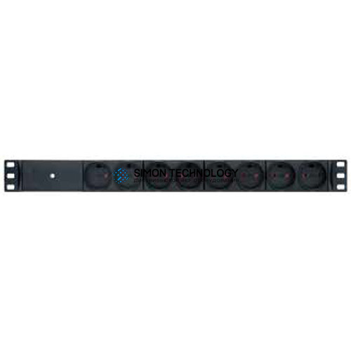 "Распределитель питания RETEX Inc. Garbot 19"" Aluminium PDU 8-way K-IT Outlet. W/LED (24155208GB-3)"