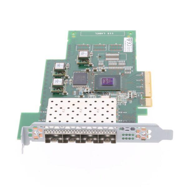 Контроллер IBM 4-port 8 Gbps FC adapter (no SFPs) (31P1702)