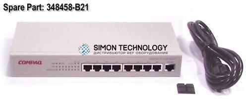 Коммутаторы HPE HPE 8 PORT 100 UNM HB2121 (348458-B21)