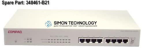 Коммутаторы HPE HPE 8 PORT 10/100 UNM HB3220 (348461-B21)