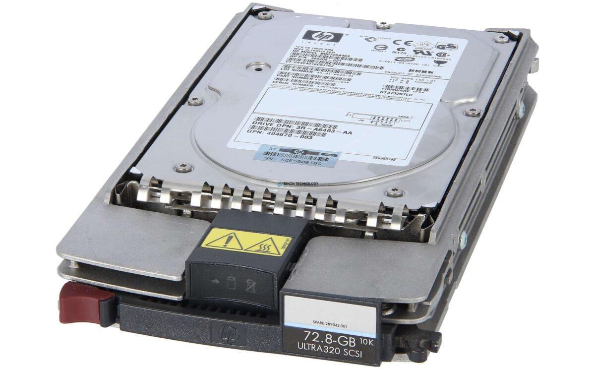 HPE HP - - HP HDD 72.8GB 10K U320 SCSI HS 80PIN - Festplatte - SCSI (356910-001)