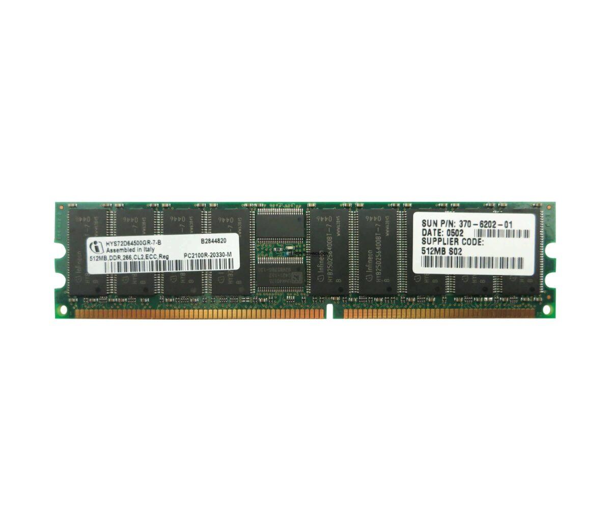 Оперативная память Sun Microsystems 512Mb MEMORY DIMM (370-6202)