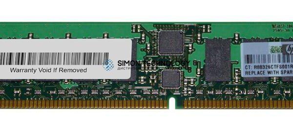 Оперативная память HPE Memory 512MB MOD.PC2700.256Mb (370780-001)