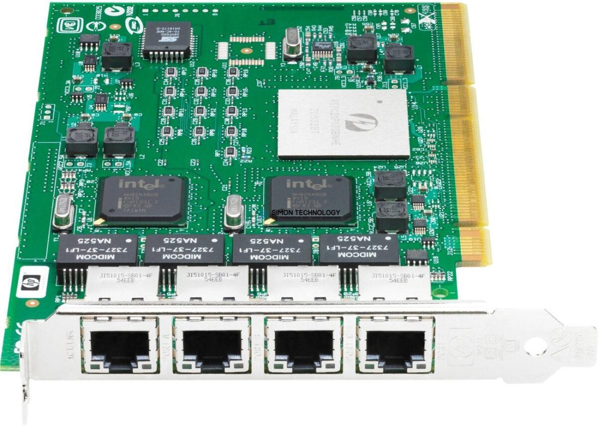 Сетевая карта HPE HPE BD.PCI-X.4PORT.1000BASE-T (389996-001)