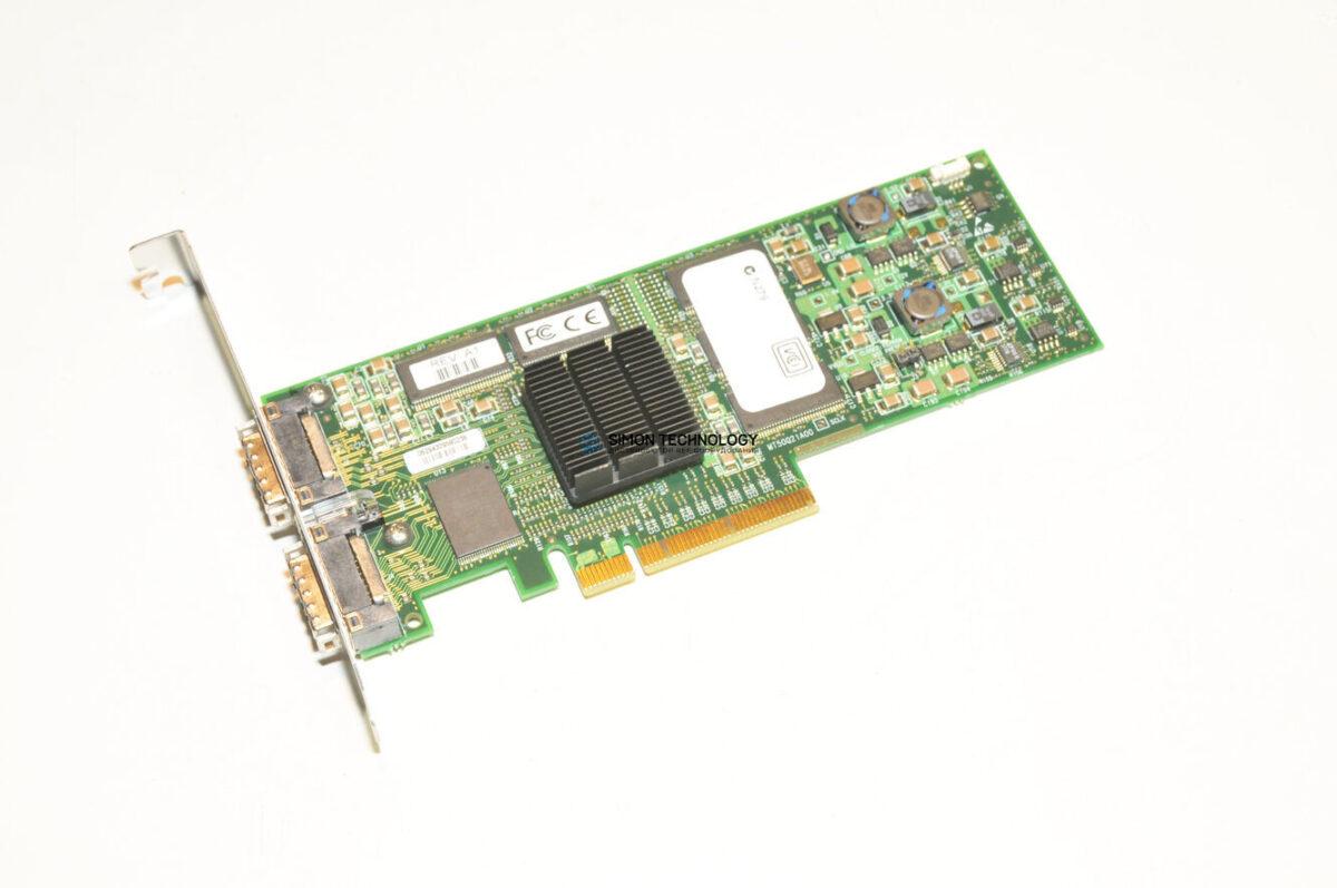 Контроллер HPE HPE HCA.4X PCIe DUAL PORT.IB (391917-001)