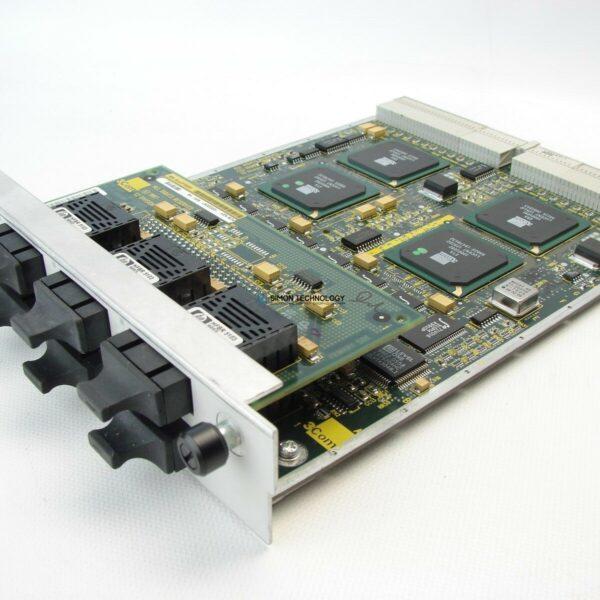 Модуль HPE HPE CB3500 FE FX MODULE 6 PORT MMF SC (3C35220)
