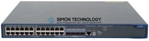 Коммутаторы HPE HPE 4210-24G-PoE Switch (3CRS42G-24P-91)