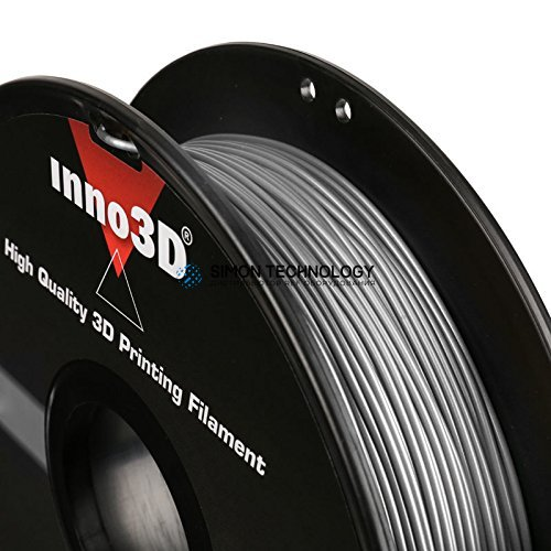 InnoVISION Multimedia Limited INNO3D HIGH QUALITY ABS 3D PRINTING FILAMENT 1.75MM SILVER (3DP-FA175-SL05)