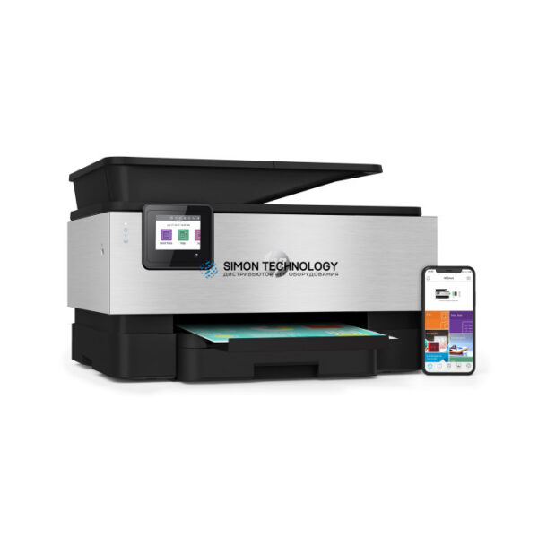 HP Officejet Pro 9010 All-in-One - Multifunktionsdrucker - Farbe (3UK83B#A80)
