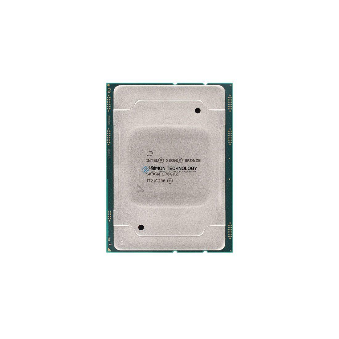 Процессор Intel Xeon Bronze 3104 6C 1.7GHz 8MB 85W Processor (401-ABHH)