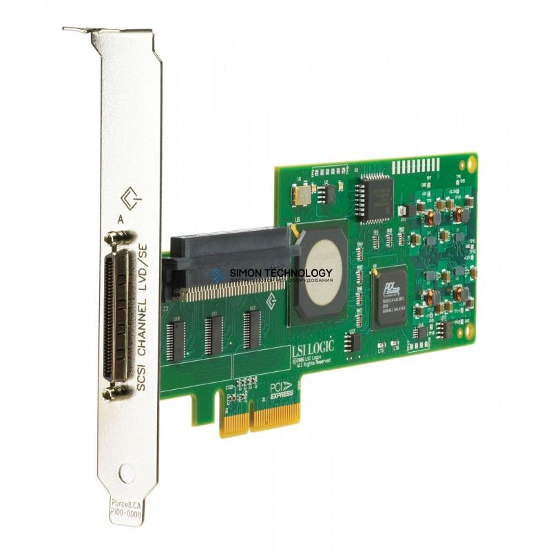 Контроллер HP SINGLE CHANNEL ULTRA 320 PCI-E - HIGH PROFILE BRKT (412911-B21-HP)