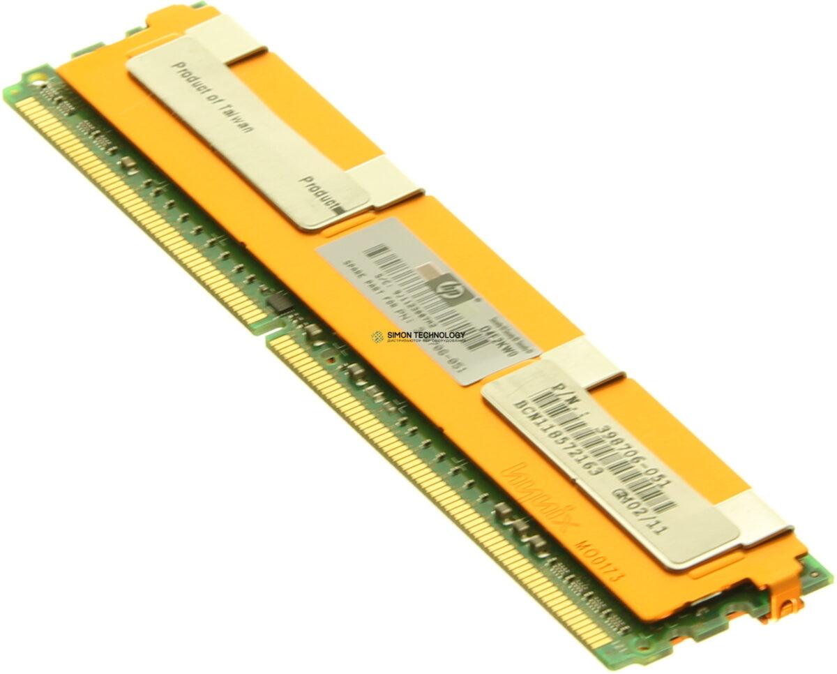 Оперативная память HPE Memory 1GB PC2-5300 FBD.64Mx8 (446557-001)