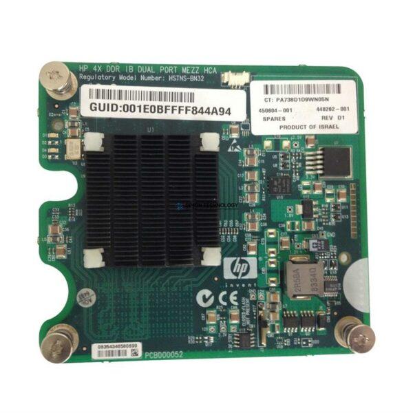 HPE HPE BD.4X DDR IB.DUAL PORT.MEZZ (450604-001)