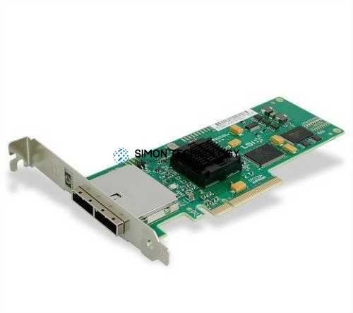 Контроллер HP SC08GE PCI-E DUAL PORT SAS HBA - HIGH PROF BRKT (488901-001-HP)