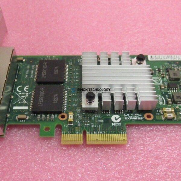 Контроллер IBM INTEL I340-T4 QUAD-PORT ETHERNET ADAPTER - HIGH PROF BRKT (49Y4241-HP)