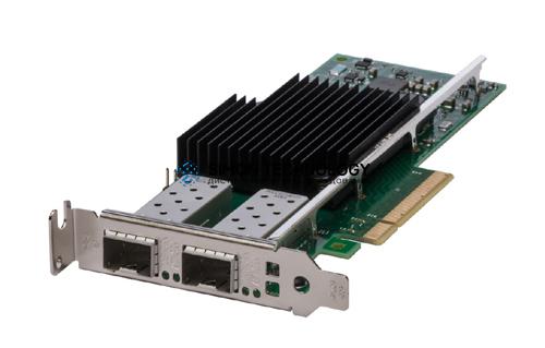 Контроллер Dell Intel X710-DA2 2x10GbE SFP+ Adapter (555-BCKN)