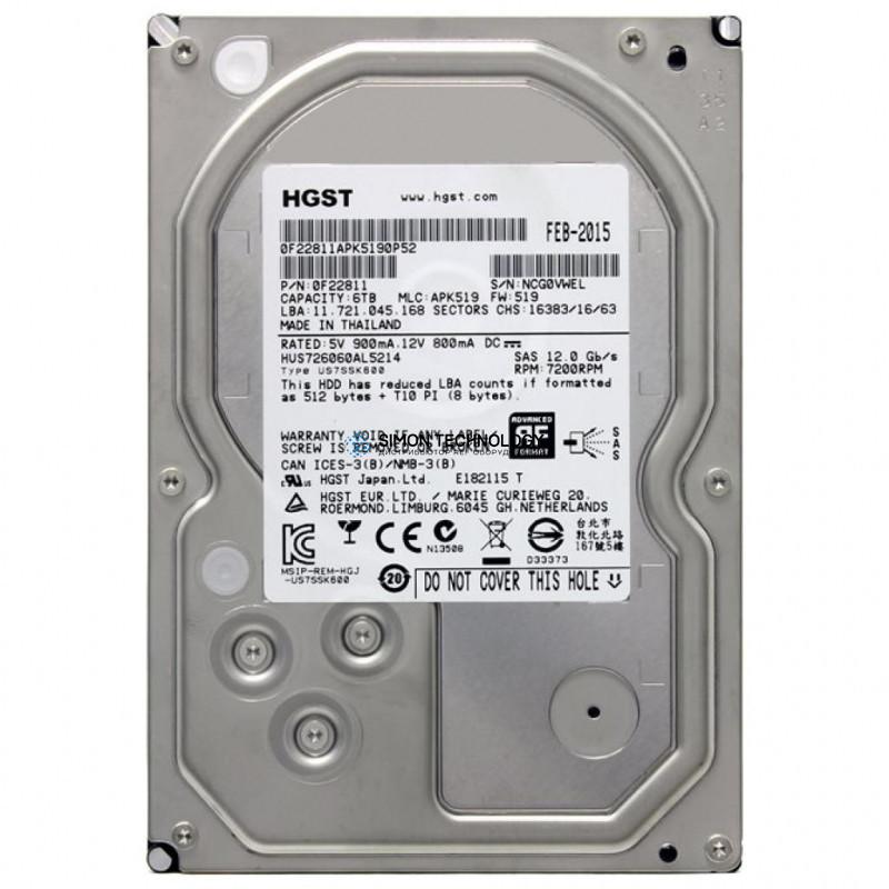 HDS HDS Disk 6TB 7.2K SAS LFF (5560075-A)