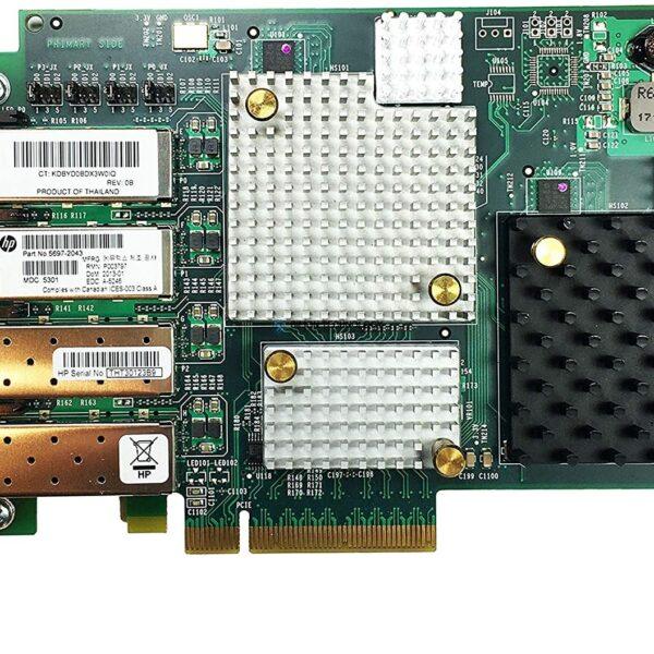 Контроллер HPE 3Par StoreServ 7000 4-Port 8GB FC Adapter (5697-2043)