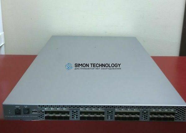 Коммутаторы HPE HPE SWITCH 24-10GbE FC 8P 8GB PPK (571875-002)