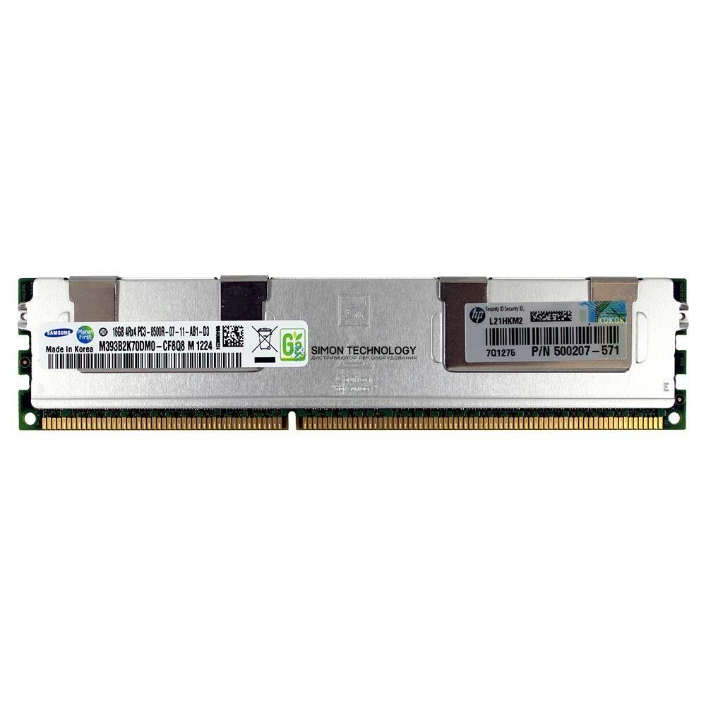 Оперативная память HP DDR3 DIMM - 16 GB DDR3 240-Pin 1.066 MHz - ECC (584686-001)