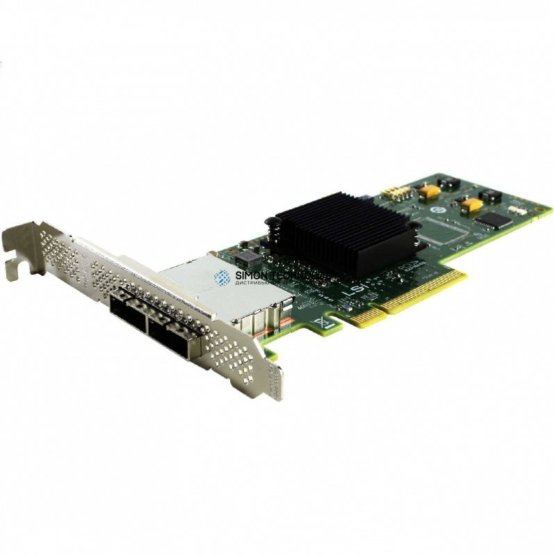 Контроллер HP SC08E 6GB DUAL PORT EXT PCIE SAS HBA - HIGH PROFILE BRKT (614988-B21-HP)