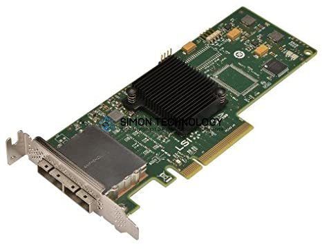 Контроллер HP SC08E 6GB DUAL PORT EXT PCIE SAS HBA - LOW PROFILE BRKT (615242-001-LP)