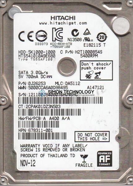 HPI HDD1TB5400rpmSATAHGST JAGUAR B (678311-001)