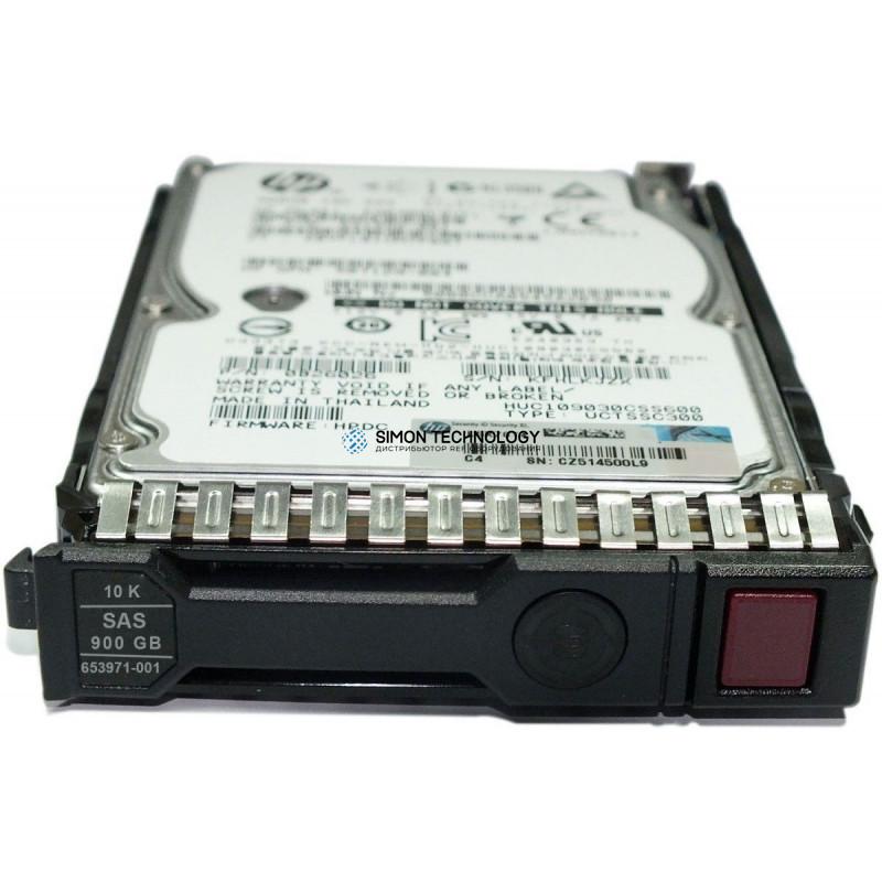 HPE HDD 900GB 10K SAS SFF 520FMT ENCR VCS (727401-001)