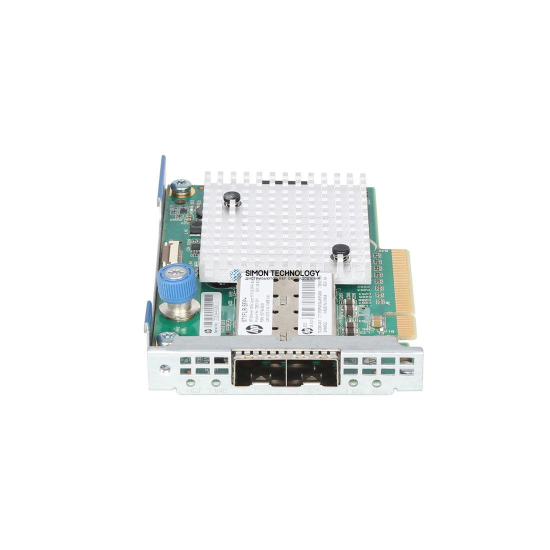 Контроллер HP ETHERNET 10GB PCIE 2PORT 571FLR-SFP+ ADAPTER (728991-B21)
