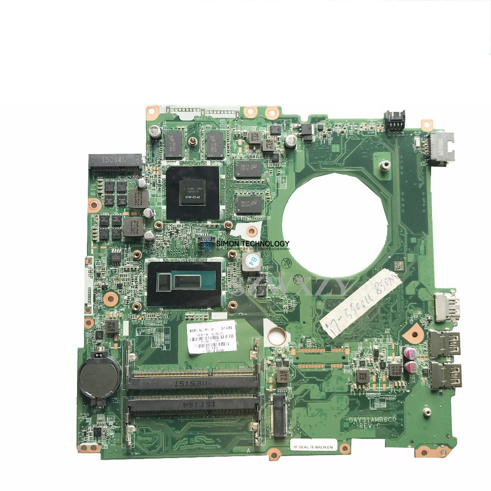 HPI MB DSC 850M 4GB i7-5500U STD (782621-501)