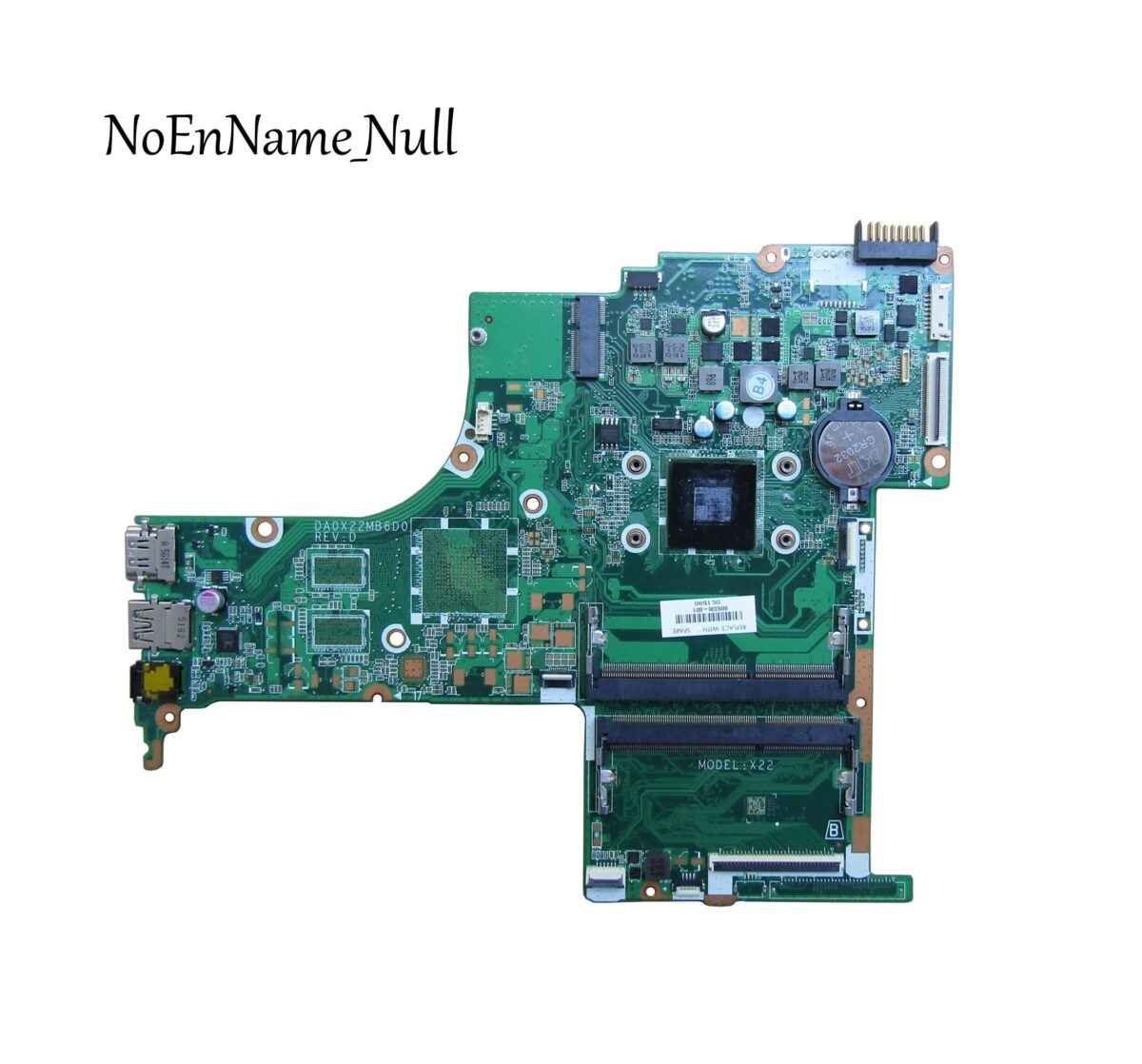 HPI MB UMA i3-6100U WIN (830596-601)