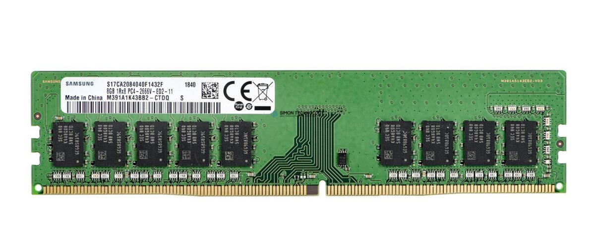 Оперативная память Samsung HPI Memory 8GB UDIMM DDR4-2400 Sam g B (855846-971)
