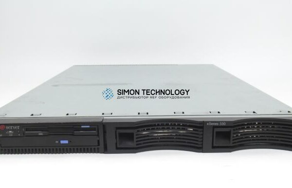 Сервер IBM x330, 2xPIII 1.0GHz, (8654-53X)