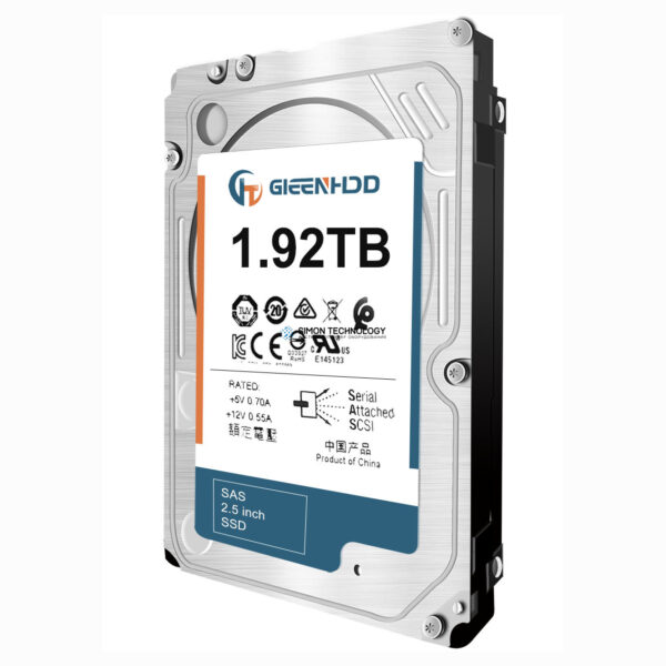 "SSD HPE 3Par HDD 1.92TB 2,5"" StoreServ M6710 (873099-001)"