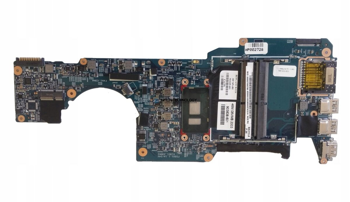 HPI MB UMA i3-7100U fSSD WIN (903838-601)