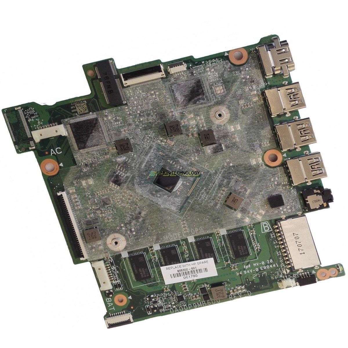 HPI MB UMA CelN3060 2GB 32GeMMC WI (905302-601)