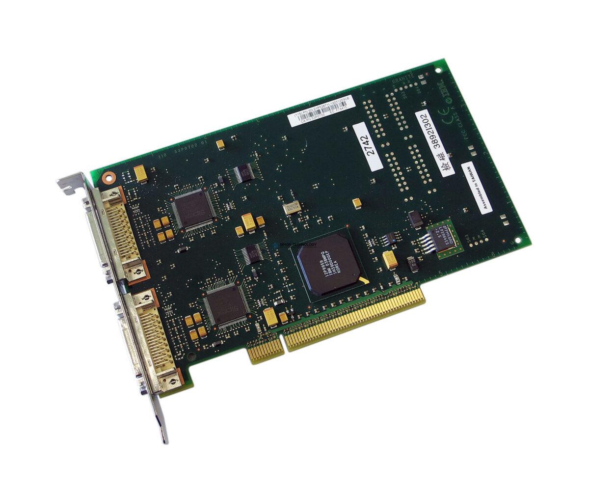 Контроллер IBM PCI 2-LINE WAN IOA (9406-2742)