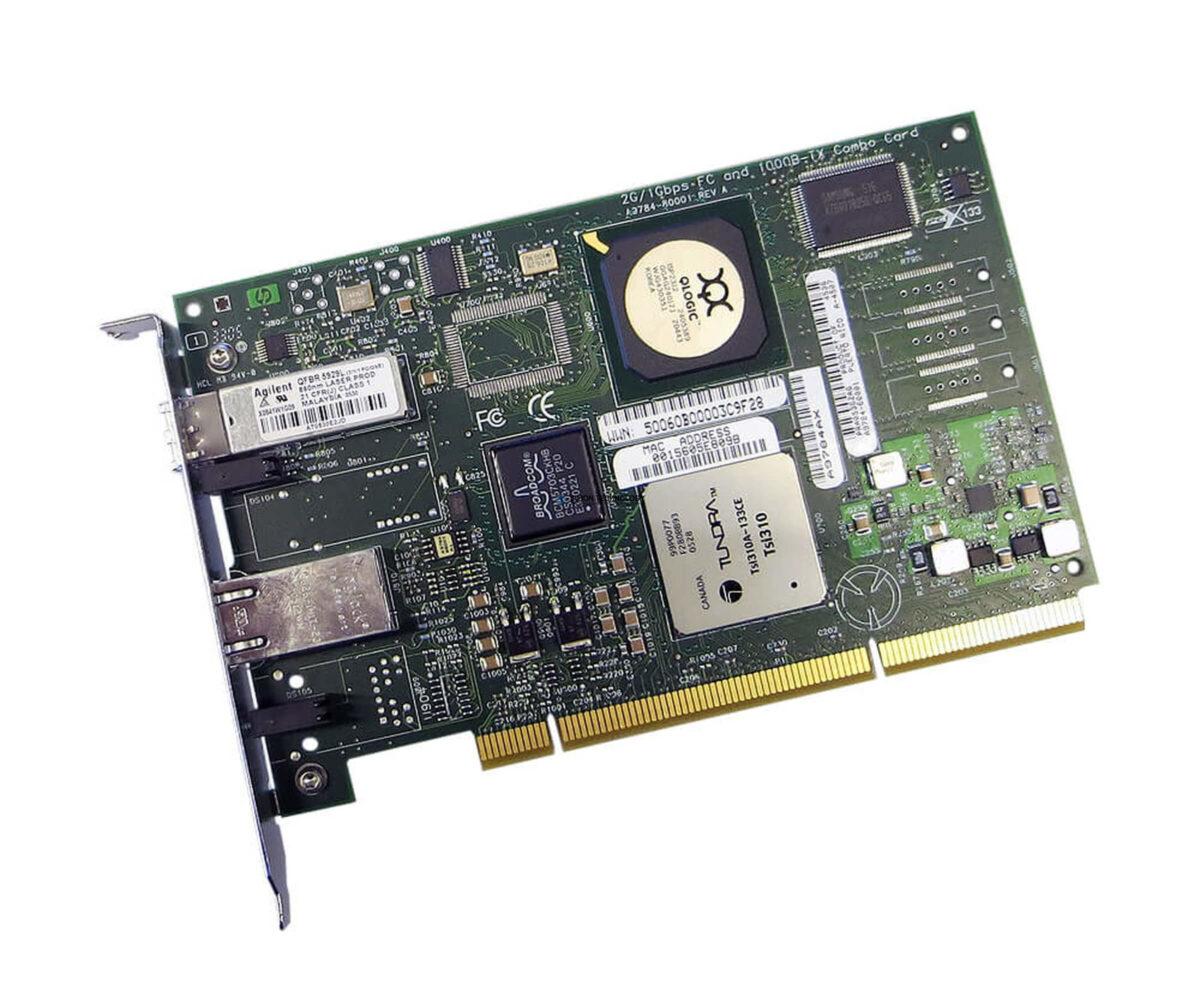 Контроллер HP 2GB PCI-X 10/100/1000 BT HBA (A9784AX)