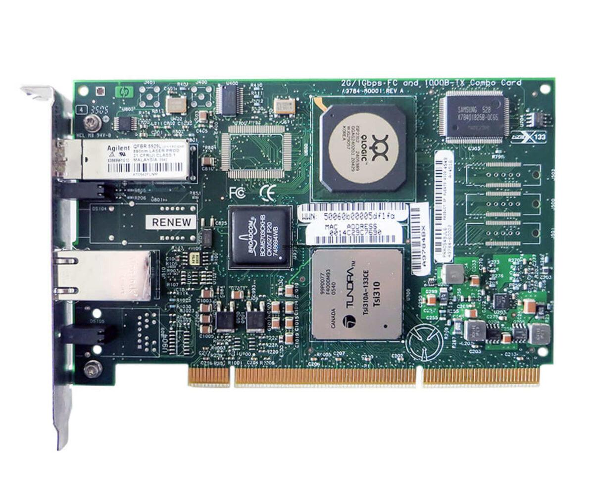 Контроллер HP 2GB PCI-X 10/100/1000 BT HBA (A9784BX)