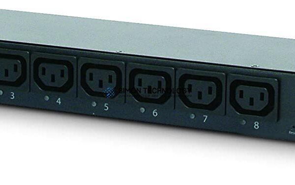 Распределитель питания APC 8AC outlet(s) 1U Schwarz Stromverteilereinheit (PDU) (AP7920B)