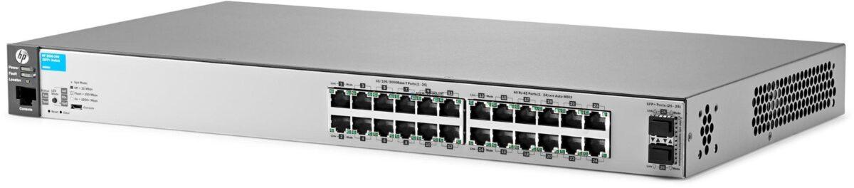 Коммутаторы HP HP Switch ARUBA 3800-24G -POE+-2SFP+ 24x 1Gbit 2x 10Gbit SFP+ (ARUBA 3800 24G POE+ 2SFP+)