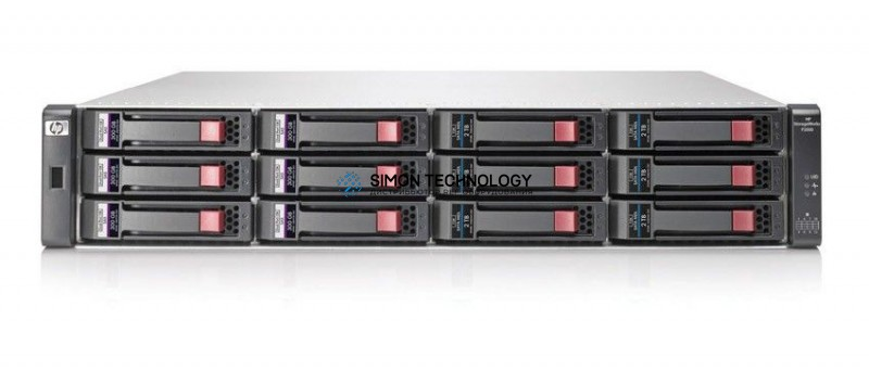 HPE MSA P2000 G3 10GbE iSCSI Dual Contr LFF Array (AW596A)